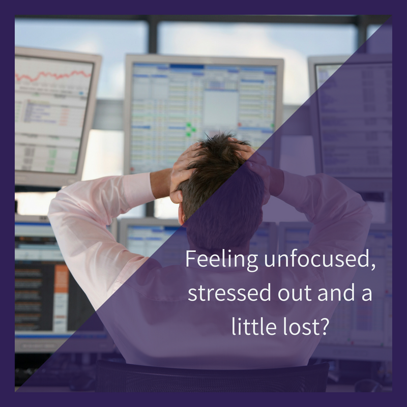 Are you an unfocused, stressed out Business Development Executive?