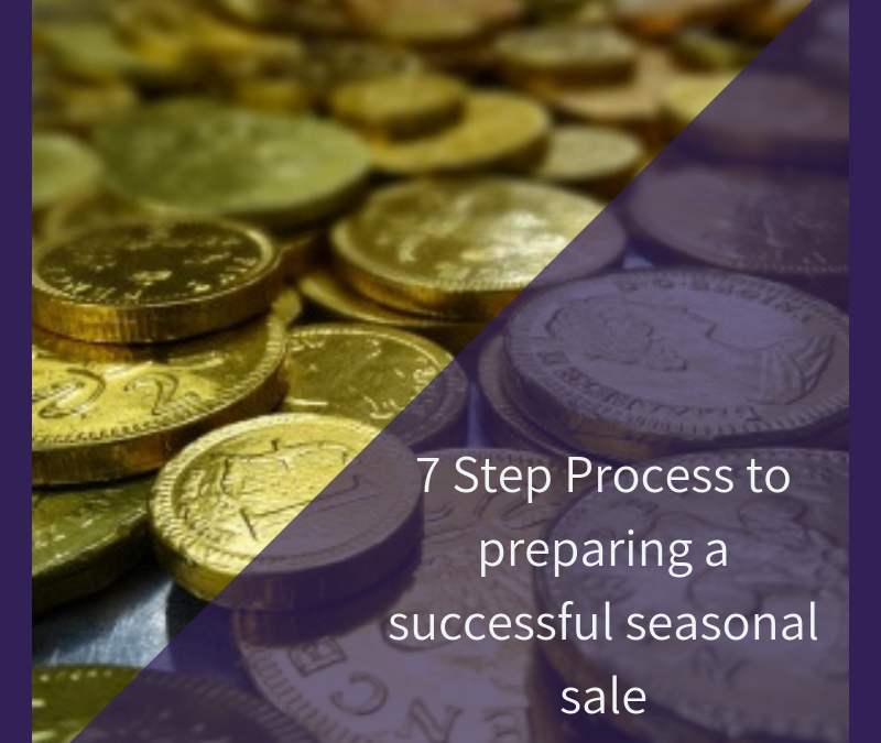 7 Step Process to preparing a successful seasonal sale